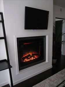 Our Beautiful Fireplace!