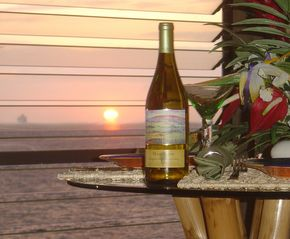 Kailua Kona condo photo - Breathtaking sunsets right from the living room