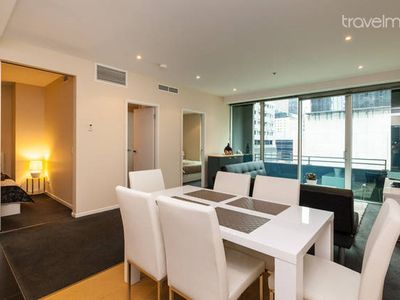 Central Modern 2BR Apt with Balcony