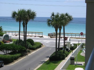Beautiful view of the Gulf Coast from your balcony