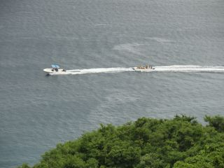 Aguadilla condo photo - Ride the banana boats or enjoy watching from the balcony.