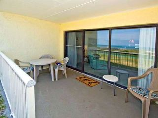 Fernandina Beach condo photo - Spacious Patio