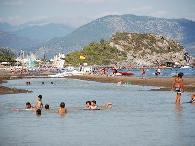 Nearby Sarigerme beach
