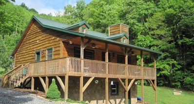 Bryson City cabin rental - Joey's Creekside Cabin