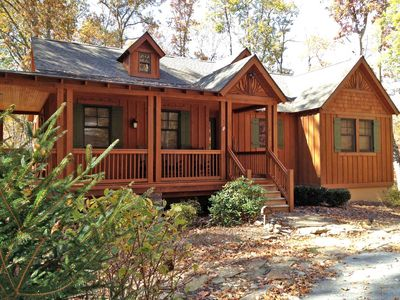 Experience Bear Creek Falls Cottage during the North Carolina leaf season.