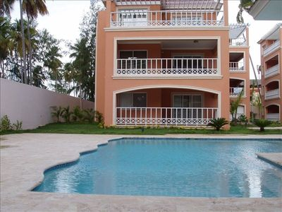 Punta Cana condo rental - Pool for exclusive use of Villa Mare residents