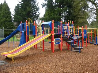 Portland house photo - Two playgrounds and athletic fields just around the corner