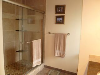 Poipu condo photo - Master bathroom with large walk in shower