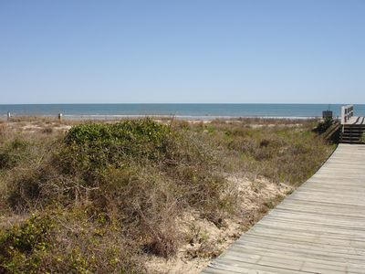 Kiawah Beach Boardwalk