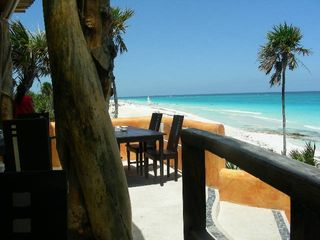 Tulum house photo - Great ocean front restaurants within minutes