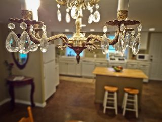 Savannah apartment photo - Antique Chandelier