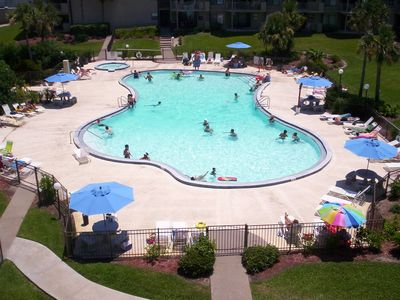 The largest outdoor pool on St. Augustine Beach!