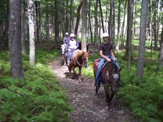 Masthope chalet photo - Horseback Riding - 3 blocks away