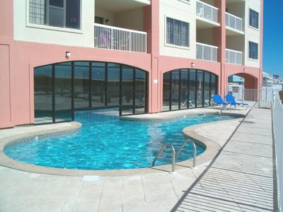 Outside Pool Area