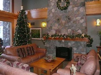 Holiday Time is spectacular at Mammoth Mountain and Juniper Springs Resort.