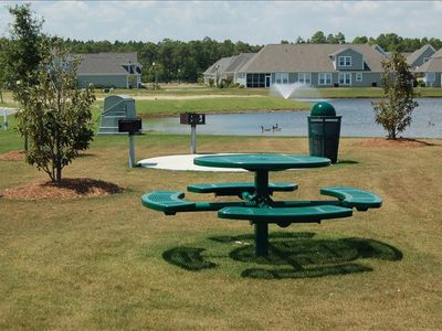 Grilling and Picnic Area - Poolside