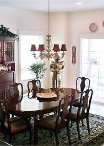 Well Appointed Large Family Dining Room