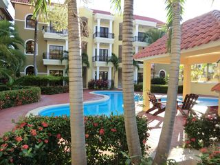 Bavaro condo photo - One of the two pools