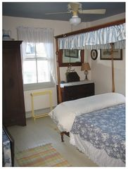 Cape May house photo - Old canopy bed and armoire.