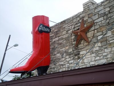 Allen's Boots on South Congress