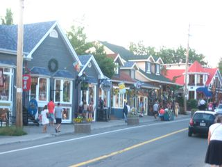 Saint-Sauveur cabin photo - Nearby town of St. Sauveur with shops and restaurants