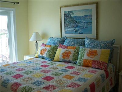 Master bedroom #3, king bed, oceanfront