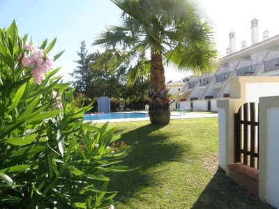 Acoteias villa rental - Pool and gardens end of terrace