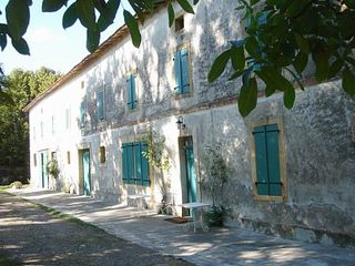 Saint-Martory castle photo - Front of farmhouse