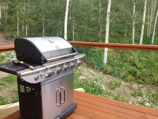 Crested Butte house photo - great barbecue on the deck