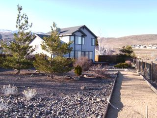 Reno house photo - Rear View with Horseshoe Pit