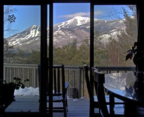 Magnificent view of whiteface mountain homeaway for Wilmington ny cabin rentals