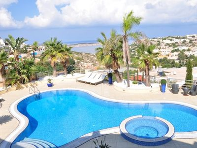Mellieha apartment rental - Pool Area with View