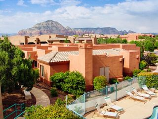 Sedona condo photo - Exterior of Units with View of Mountains at the Sedona Summit Resort