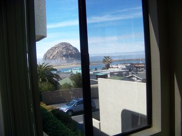 Morro Bay condo rental - Views of Morro Rock, The Bay, Ocean and The Embarcadero
