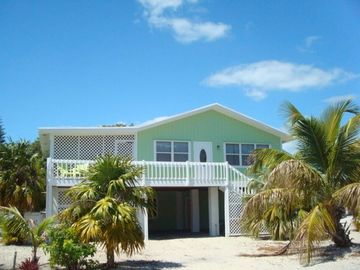 Ramrod Key house rental - Front Door and Side Porch