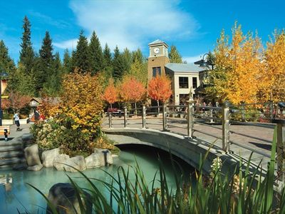 Beautiful Whistler Village in the Fall