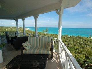 Little Exuma estate photo - Upstairs deck off of main house