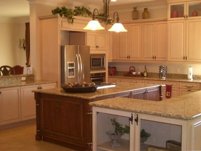 A true cooks kitchen; bright, open, spacious and fully equipped