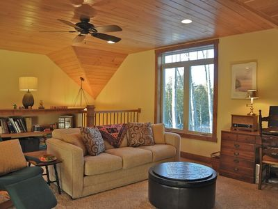 Fish Creek chalet rental - Another view of our inviting loft
