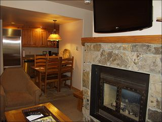 Mountain Village condo photo - Living Rooms with Gas Fireplace