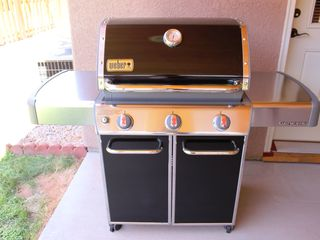 Moab townhome photo - .Grill on covered patio