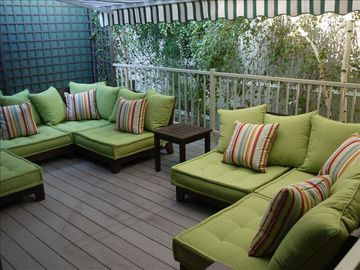 Santa Monica apartment rental - Indoor/outdoor patio all to yourself!