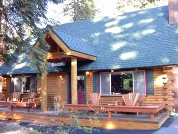 Agate Bay cabin rental - Exterior of Home