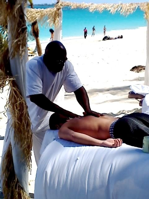 Relaxing Massage Beachside