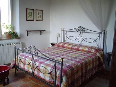 San Costanzo apartment rental - bedroom of apartment Sempreverde