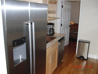 Provincetown condo photo - Kitchen with stainless steel/granite
