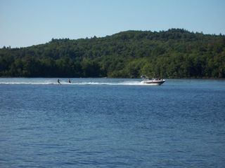 Newfound Lake cottage photo - Waterskiing on an uncongested Lake doesn't get any better