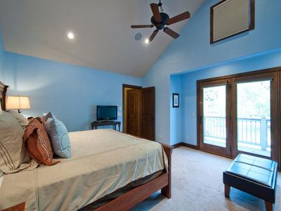 Old Town house rental - Master bedroom