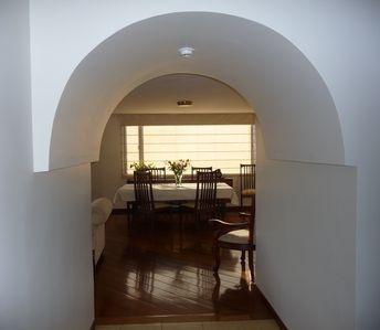 Entrance to Dining Area
