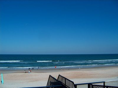 Beautiful Unobstructed View of Beach - Pic taken from balcony